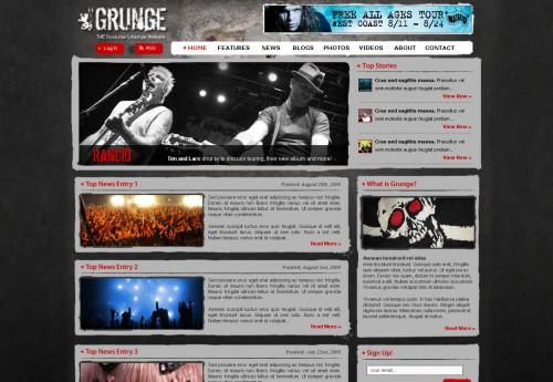 templates-grunge
