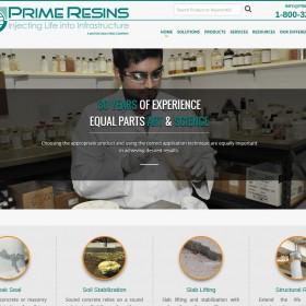 Launch: Prime Resins