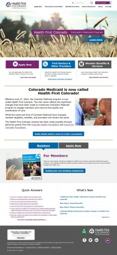 Launch: Health First Colorado