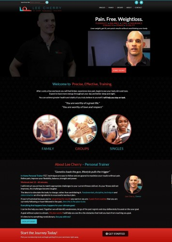 Launch: Lee Cherry – In Home Personal Trainer